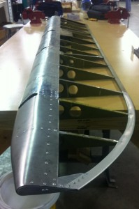 Stearman Aileron Repaired
