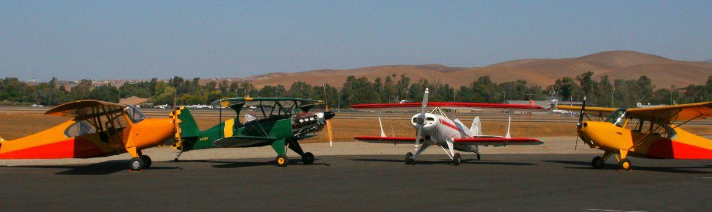 Biplane fabric recovering classic airplane restoration